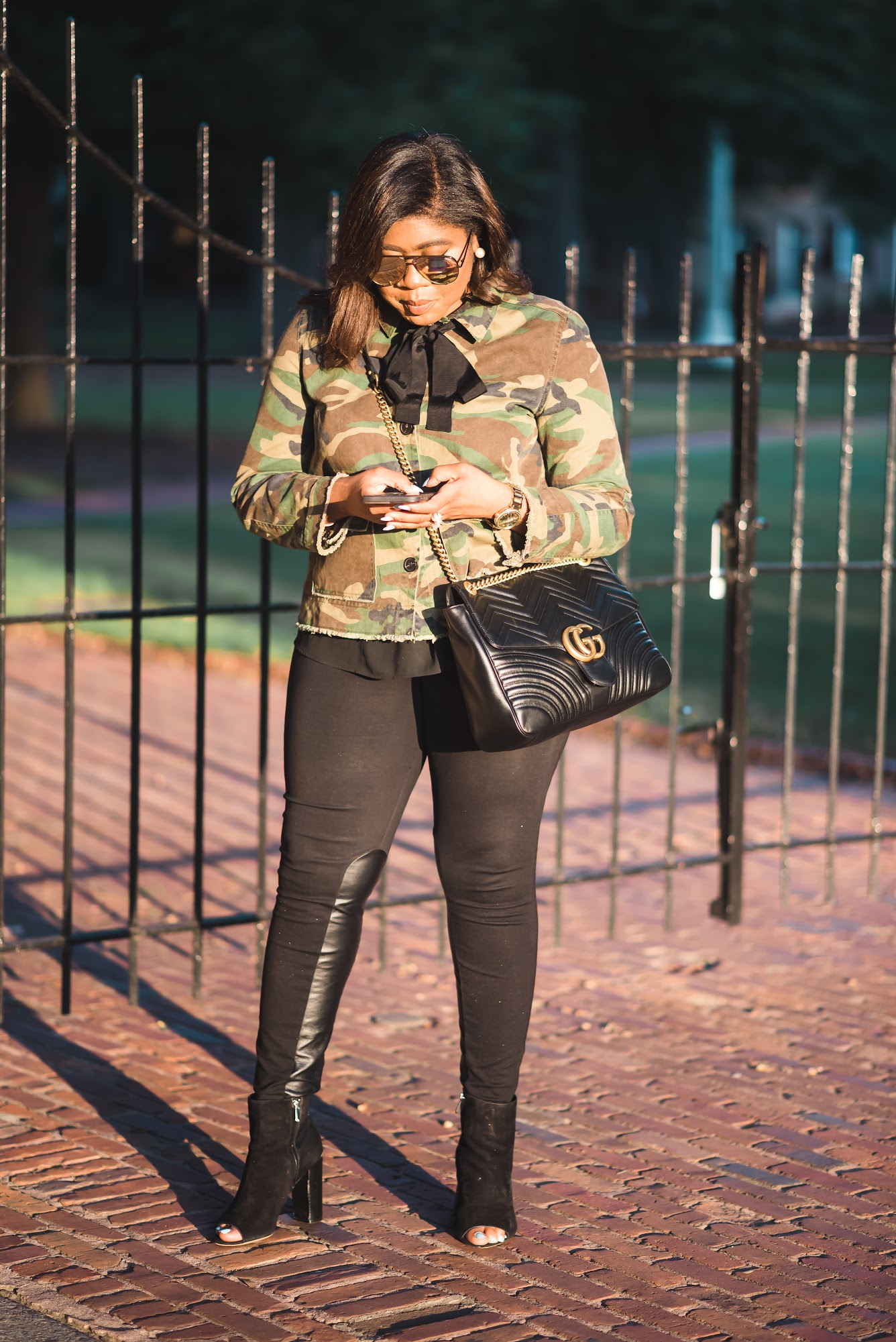 Falling into Autumn Series: The Camo Jacket (Pt.2)
